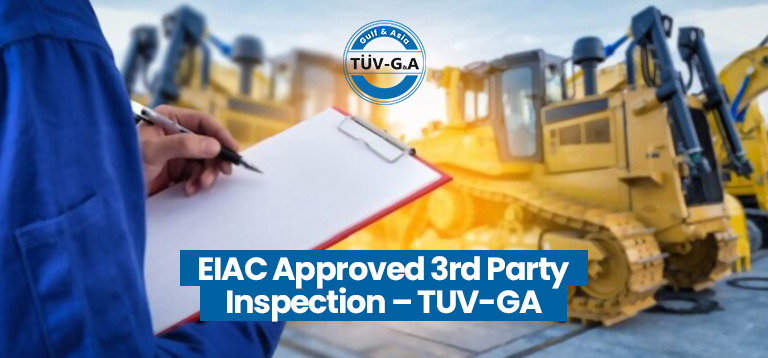 EIAC Approved 3rd Party Inspection – TUV-G&A